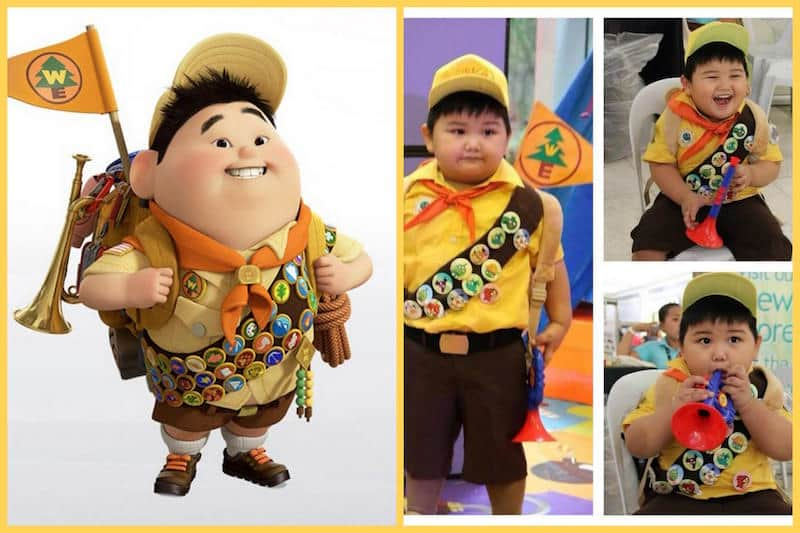 Halloween Costume - Russel from Up