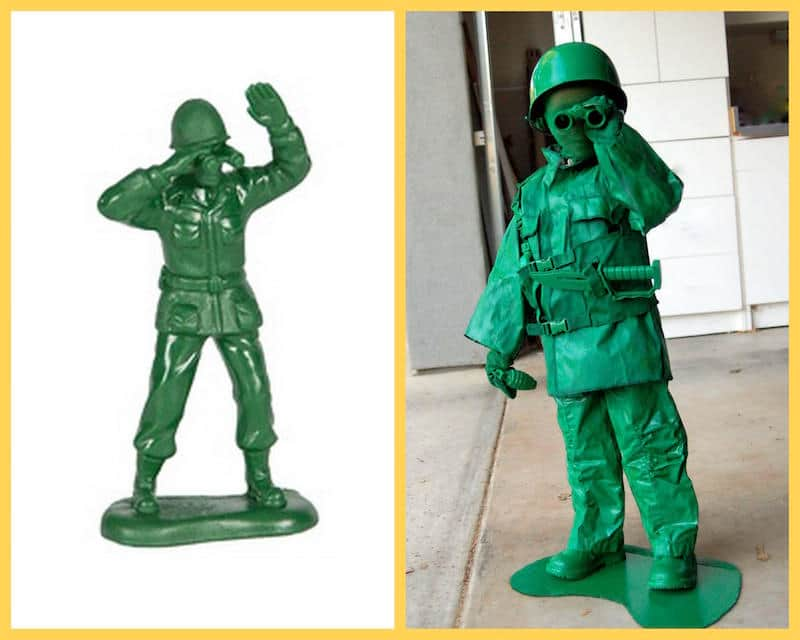 Halloween Costume - Green Army Man from Toy Story