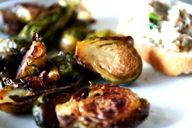Holiday Food Recipes - Appetizers - Roasted Brussel Sprouts
