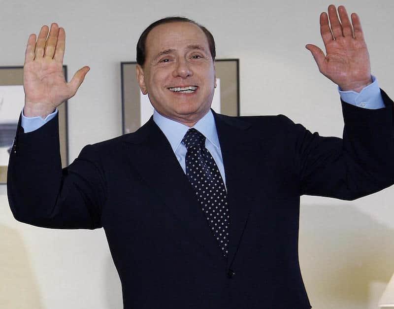 Silvio Berlusconi former Italian prime minister