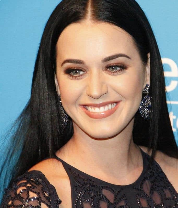 Katy Perry at UNICEF Snowflake Ball in Cipriani, New York City - Most Beautiful Celebrities