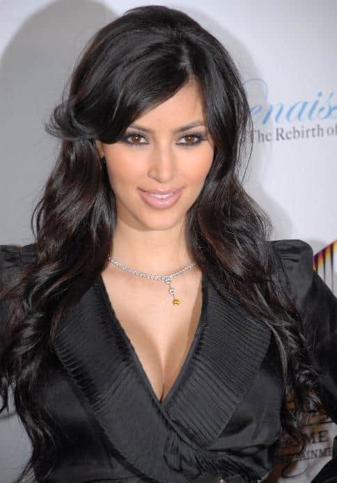 Kim Kardashian - The most beautiful celebrities
