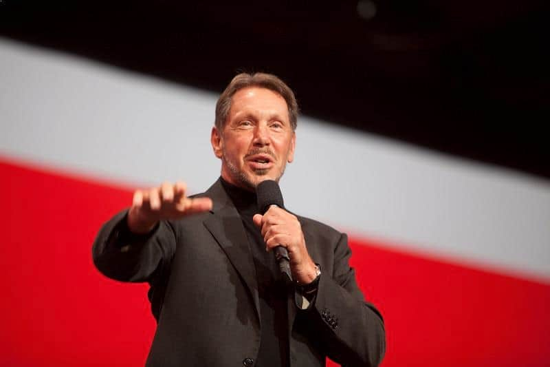 Larry Ellison - philanthropist, charity