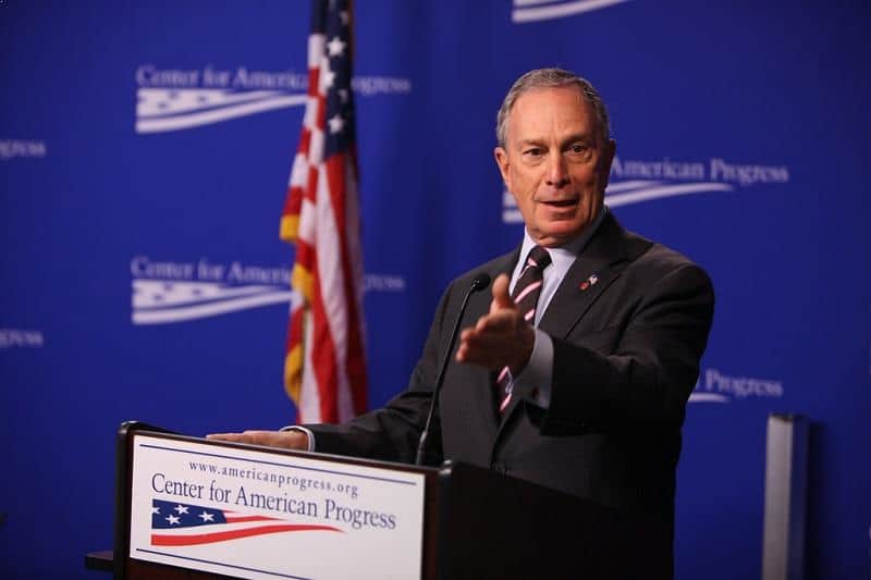 Michael Bloomberg - philanthropist, charity