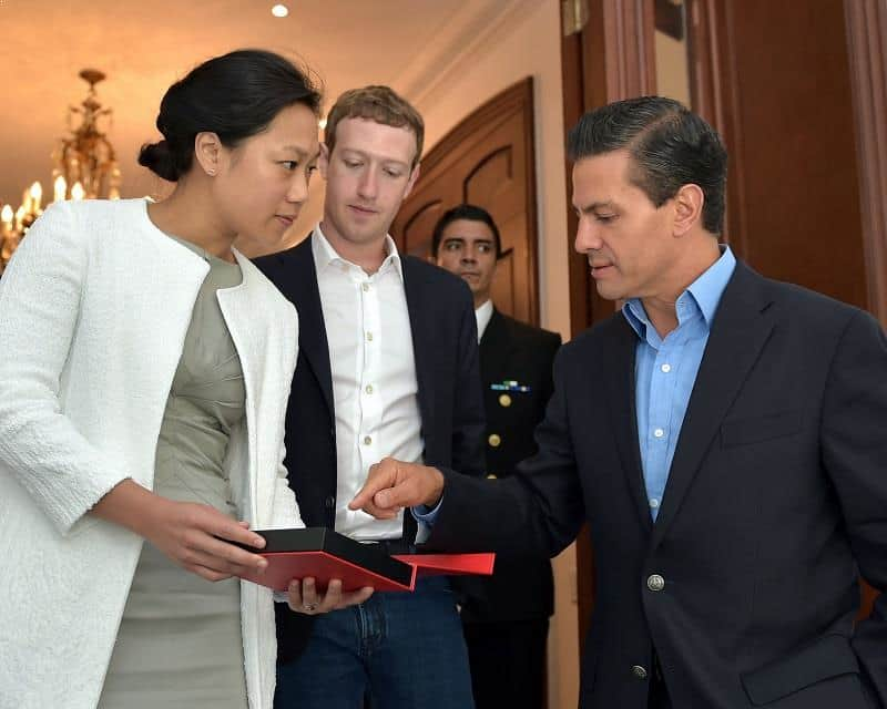 Mark Zuckerberg and Priscilla Chan, philanthropists, charity