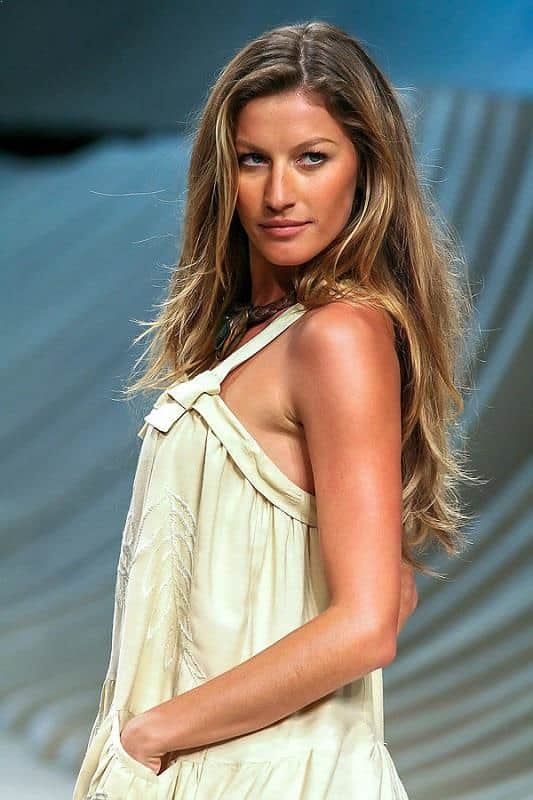 Gisele Bündchen, top paid, highest earning supermodel in the world