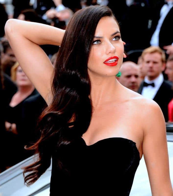 Supermodel Adriana Lima - Top-paid model in the world 2016