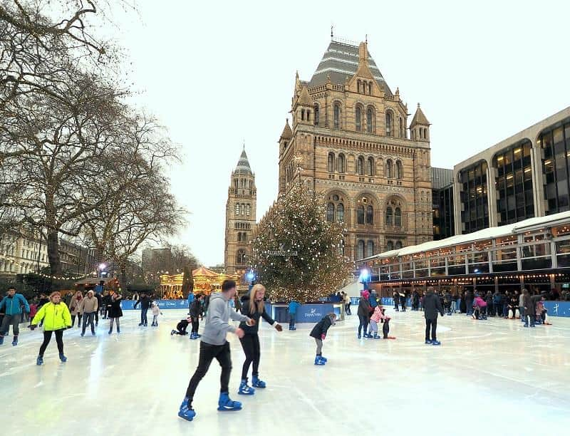 Swarovski Ice rink, London, England