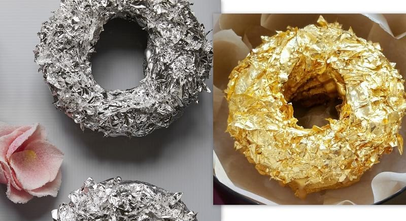 Food Creation: Golden Donut
