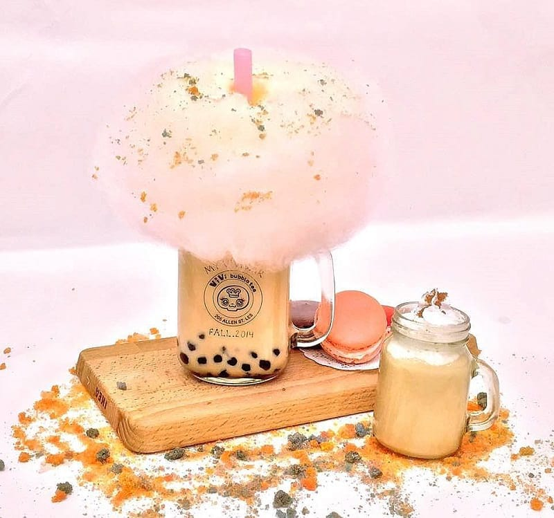Food Creations: Cotton Candy Boba