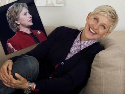 Ellen Degeneres endorsed Hillary Clinton