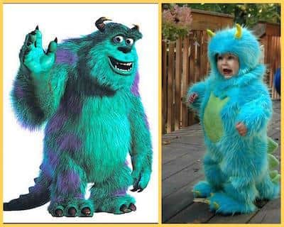 Halloween Costume - Sulley from Monsters Inc