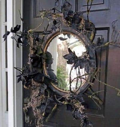Halloween Decoration - Haunted house mirror