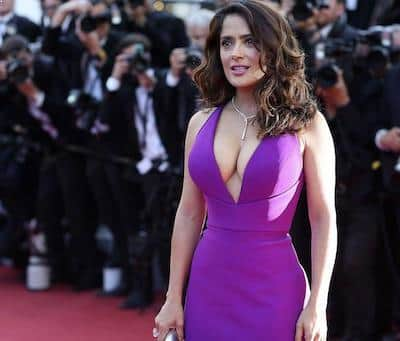 Fall Fashion - Salma Hayek