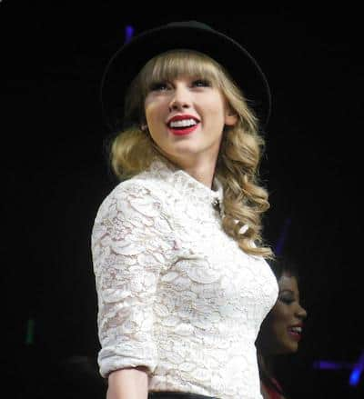Taylor Swift on her RED tour - Most Beautiful Celebrities