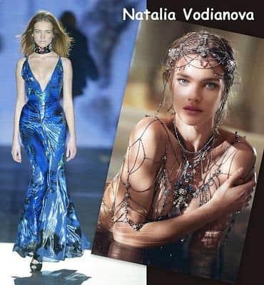 Model Natalia Vodianova