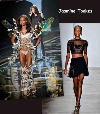 Supermodel Jasmine Tookes - top paid model 2016
