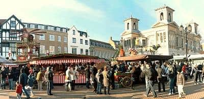 Kingston Christmas Market, London