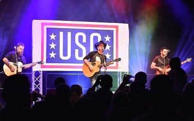 Country Music Singer Craig Campbell was at Forward Operation Base Gamberi, Afghanistan during 2016 USO Holiday Tour