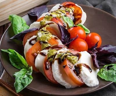Fruit Salad Recipe: Traditional Caprese Salad