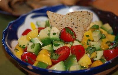 Fruit Salad Recipe: Mango Avocado Salsa