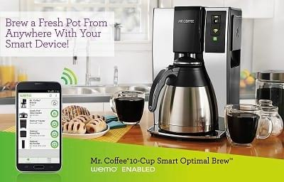 Smart Coffee Makers for Smart Home